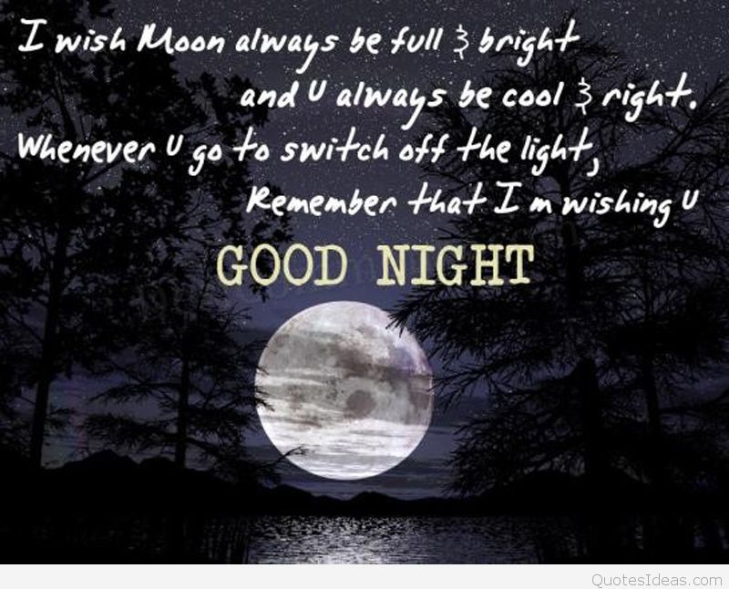 Sweet Good Night Quotes With Pictures - Best Quotes Saying Good Night - HD Wallpaper