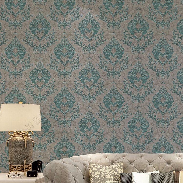 Italian Style Big Flower Design Luxury Hotel Project - Wall 3d Wallpaper For Hotel Room - HD Wallpaper