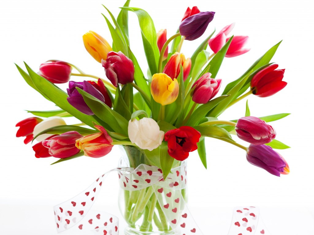 Most Beautiful Flowers Bouquet For Birthday 1024x768 Wallpaper Teahub Io