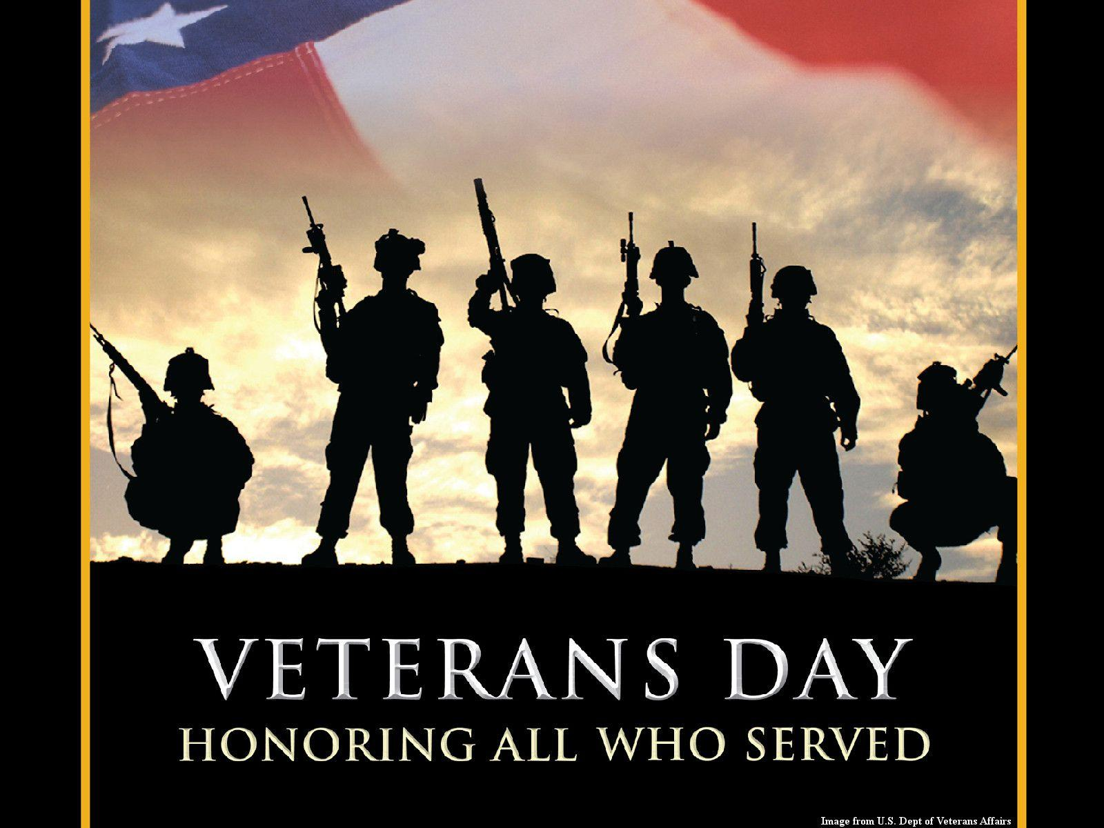 Land Of The Free Because Of The Brave Veterans Day 1600x1200 Wallpaper Teahub Io
