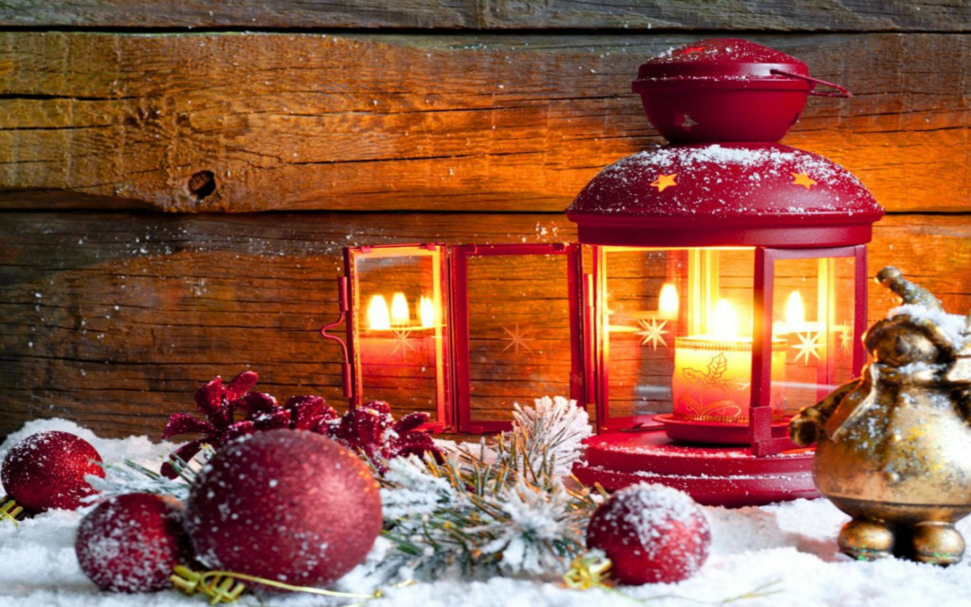 Free Holiday Wallpapers - Old Fashioned Christmas Background - HD Wallpaper