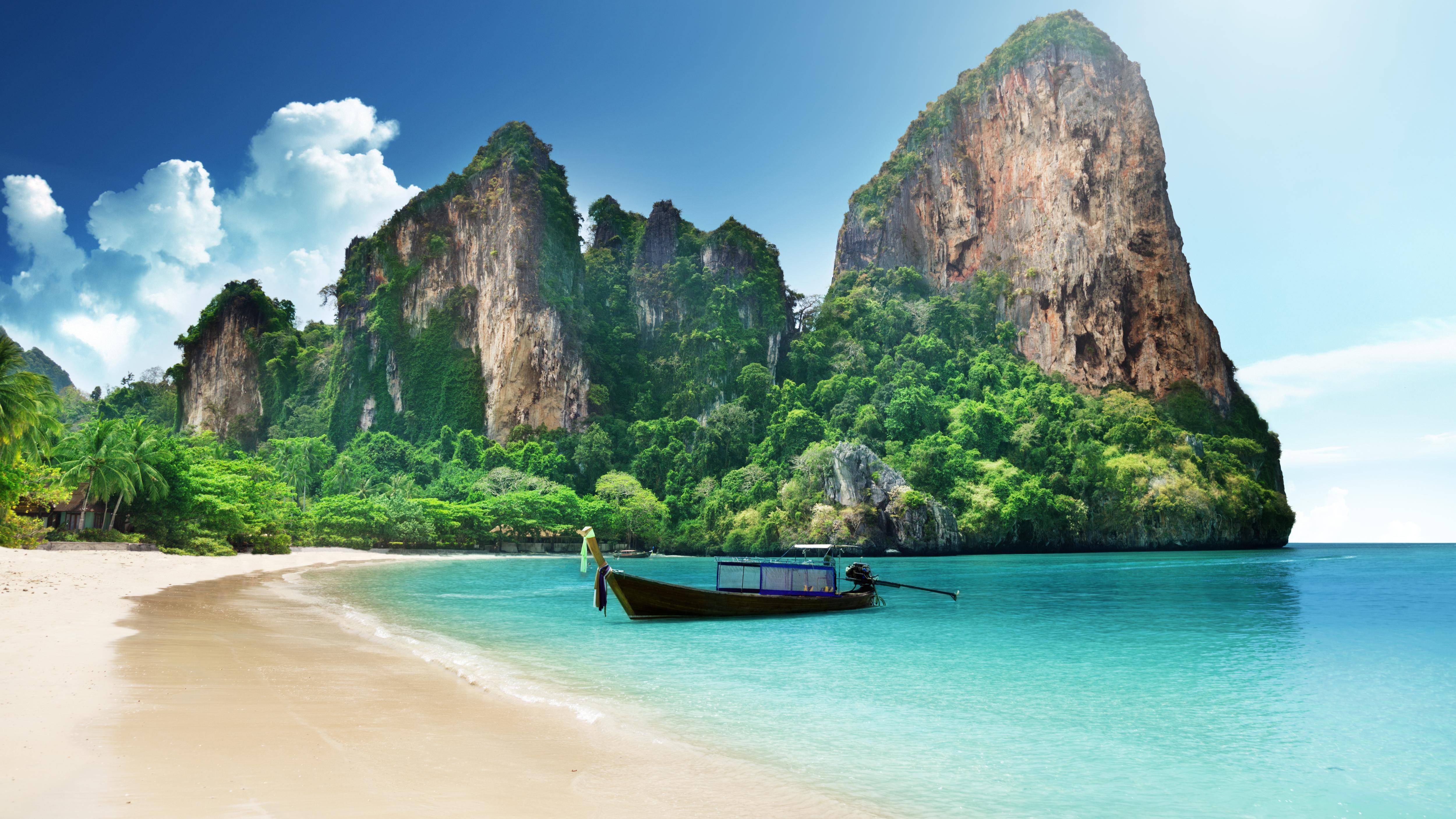 Tropical Beach - Tropical Beach Desktop Background - HD Wallpaper