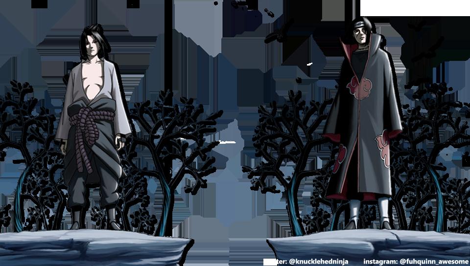 Sasuke And Itachi Png - HD Wallpaper