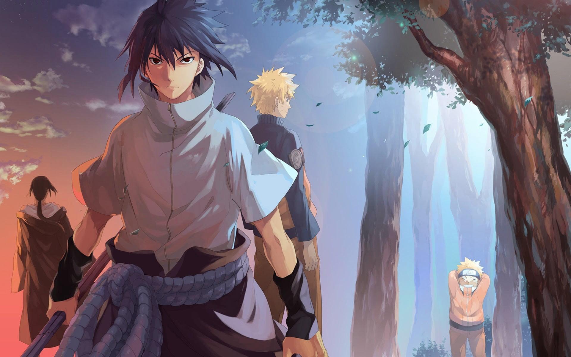 Itachi Uchiha, Anime, Naruto Uzumaki, Naruto, Art, - Itachi And Sasuke Wallpaper 4k - HD Wallpaper