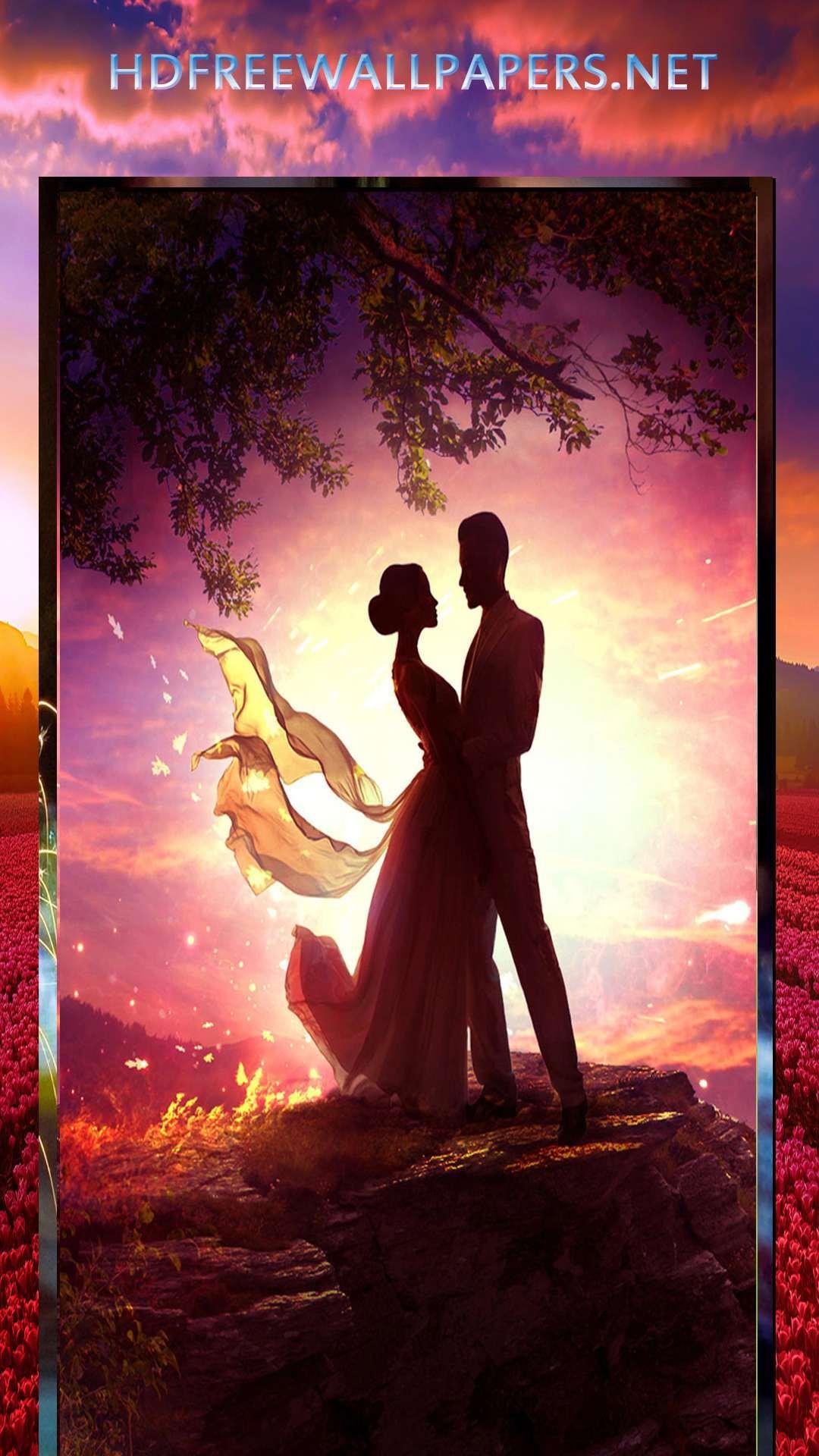 Hd Wallpaper Love Couple Image Download 1080x1920 Wallpaper Teahub Io
