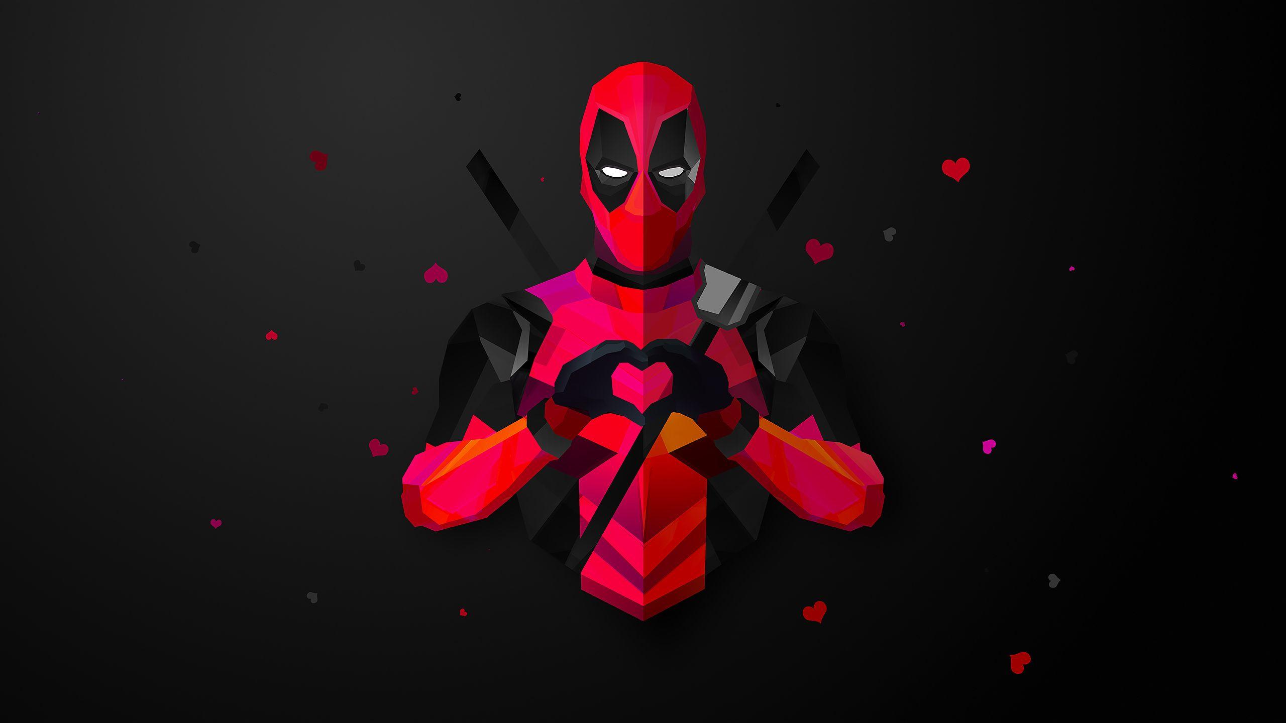 Deadpool Funny Wallpaper Hd 2560x1440 Wallpaper Teahub Io