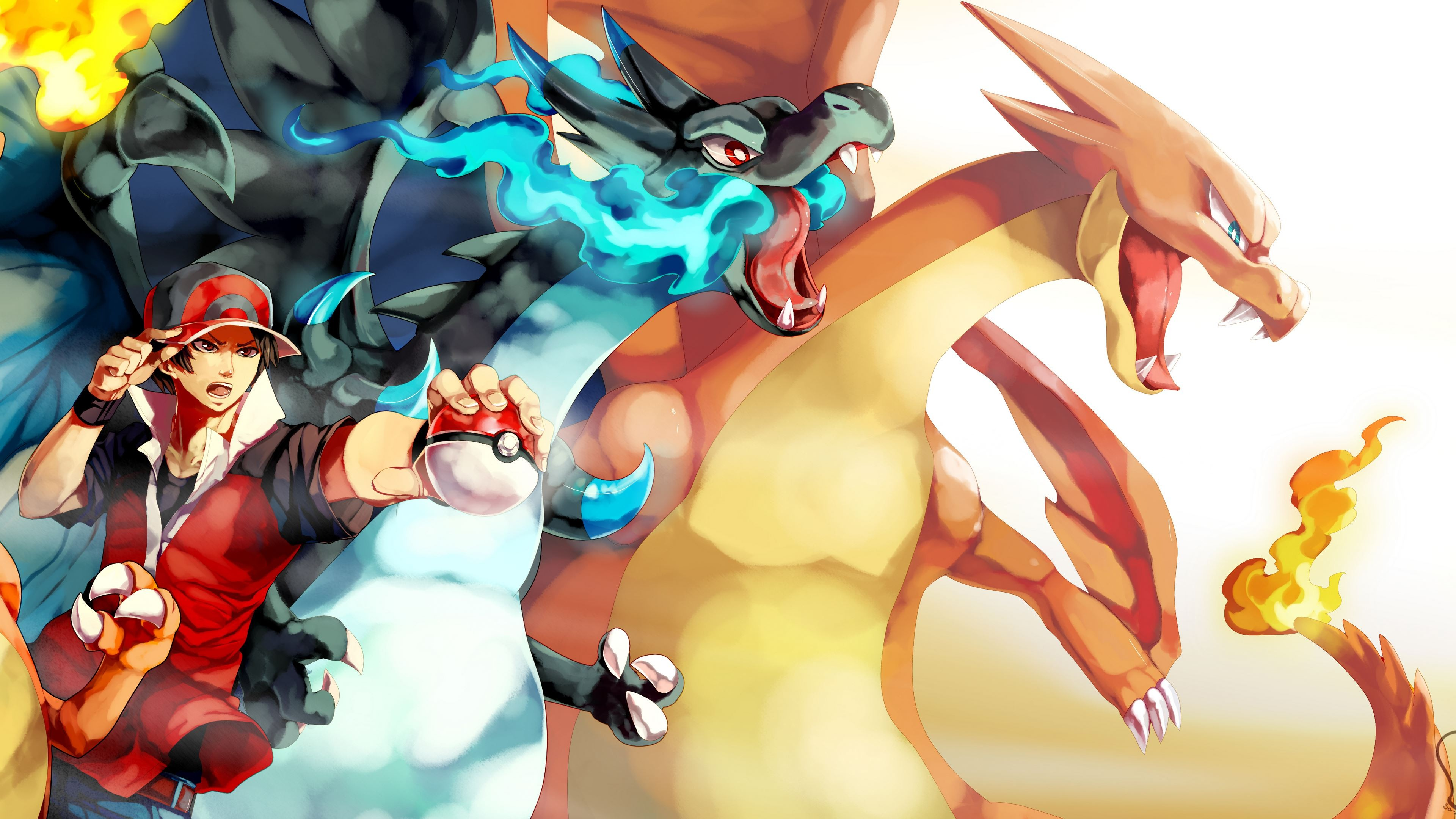 Pokemon Wallpaper Hd Red 3840x2160 Wallpaper Teahub Io