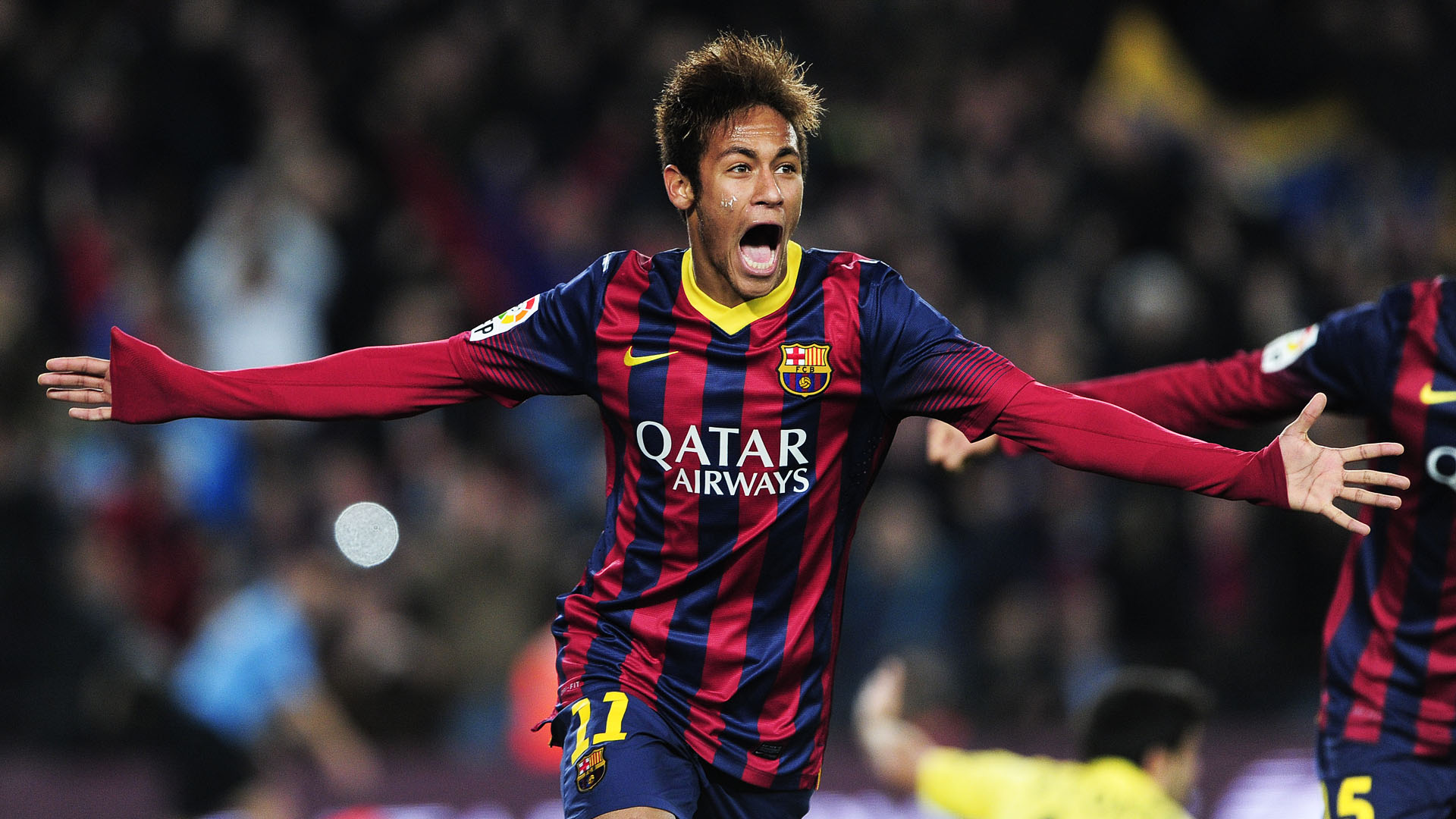 Neymar Full Hd Wallpaper Barcelona Fc Wallpaper Neymar 1920x1080 Wallpaper Teahub Io