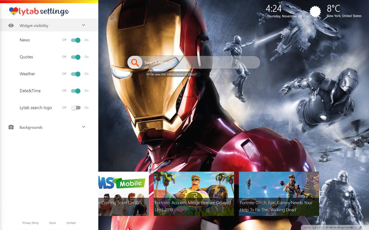 Iron Man Hd Wallpapers 1280x800 Wallpaper Teahub Io