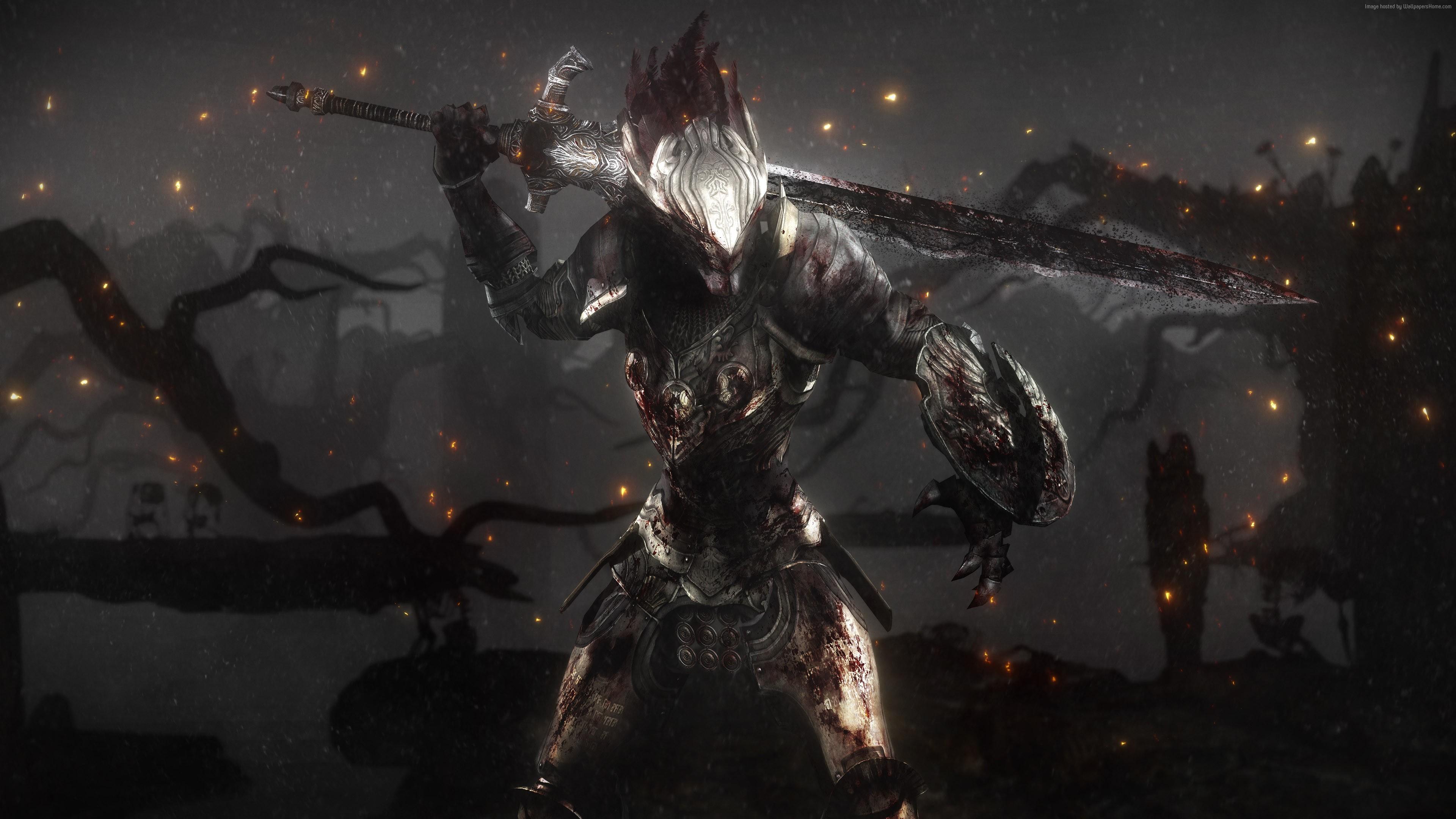 Ultra Hd Dark Souls 3840x2160 Wallpaper Teahub Io