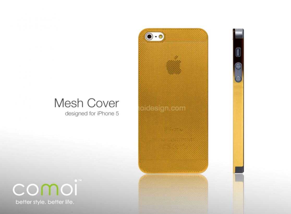 Gold Iphone 5 Id - Mobile Phone Case - HD Wallpaper