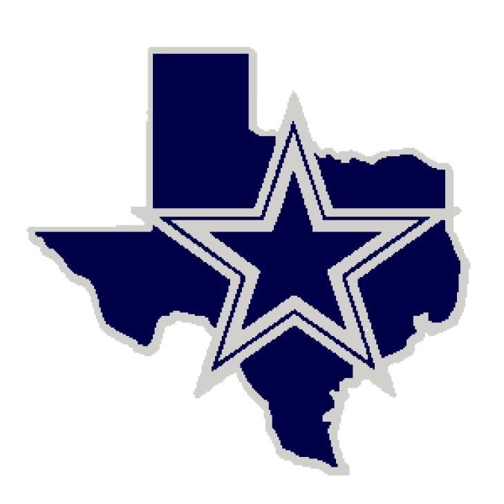 Free Dallas Cowboys Clip Art - Dallas Cowboy Star In Texas - HD Wallpaper