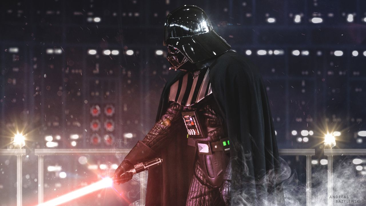 Darth Vader Wallpaper 4k 1280x720 Wallpaper Teahub Io