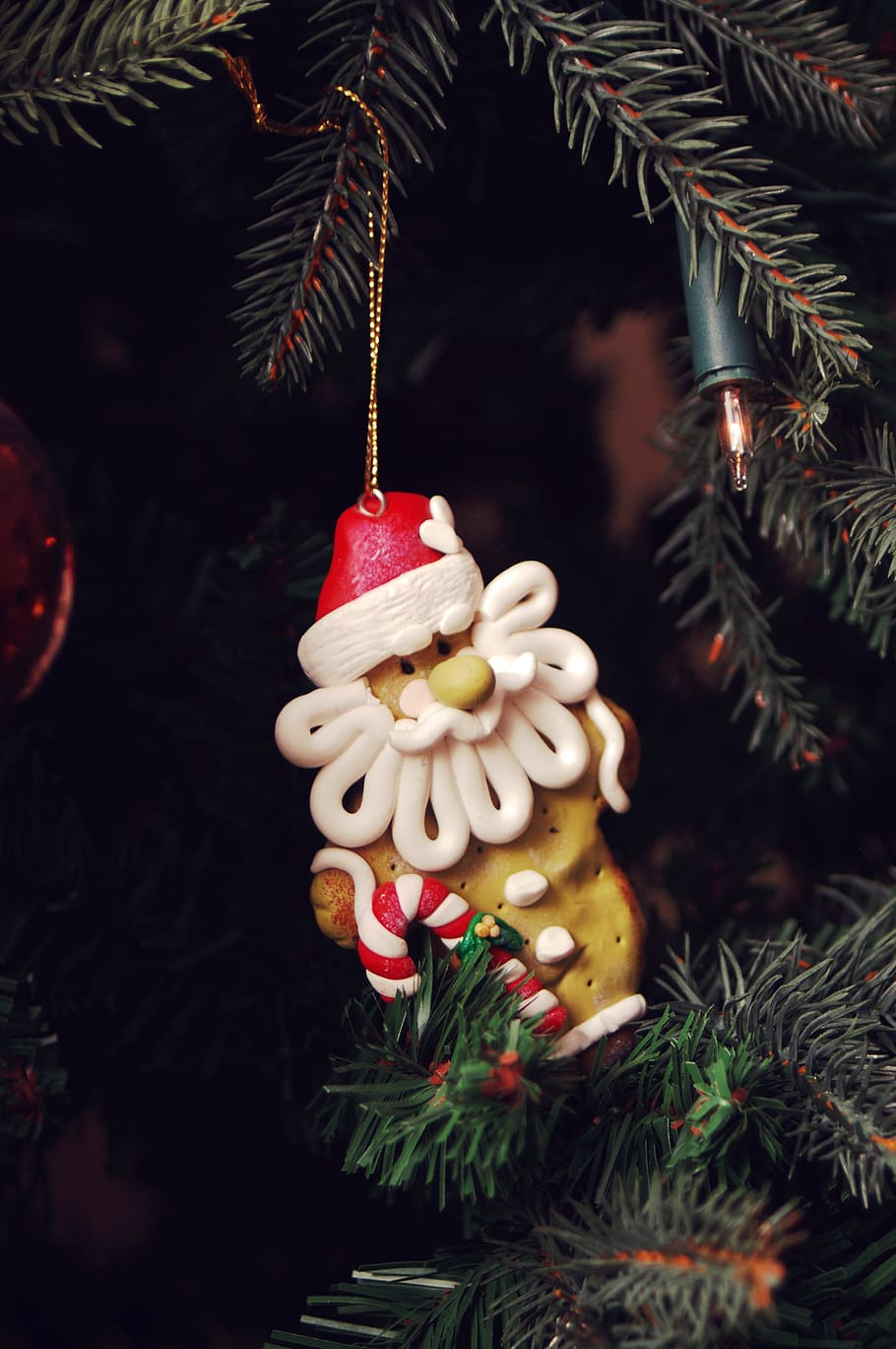 Christmas, Christmas Tree, Celebration, Decoration, - Christmas Ornament - HD Wallpaper