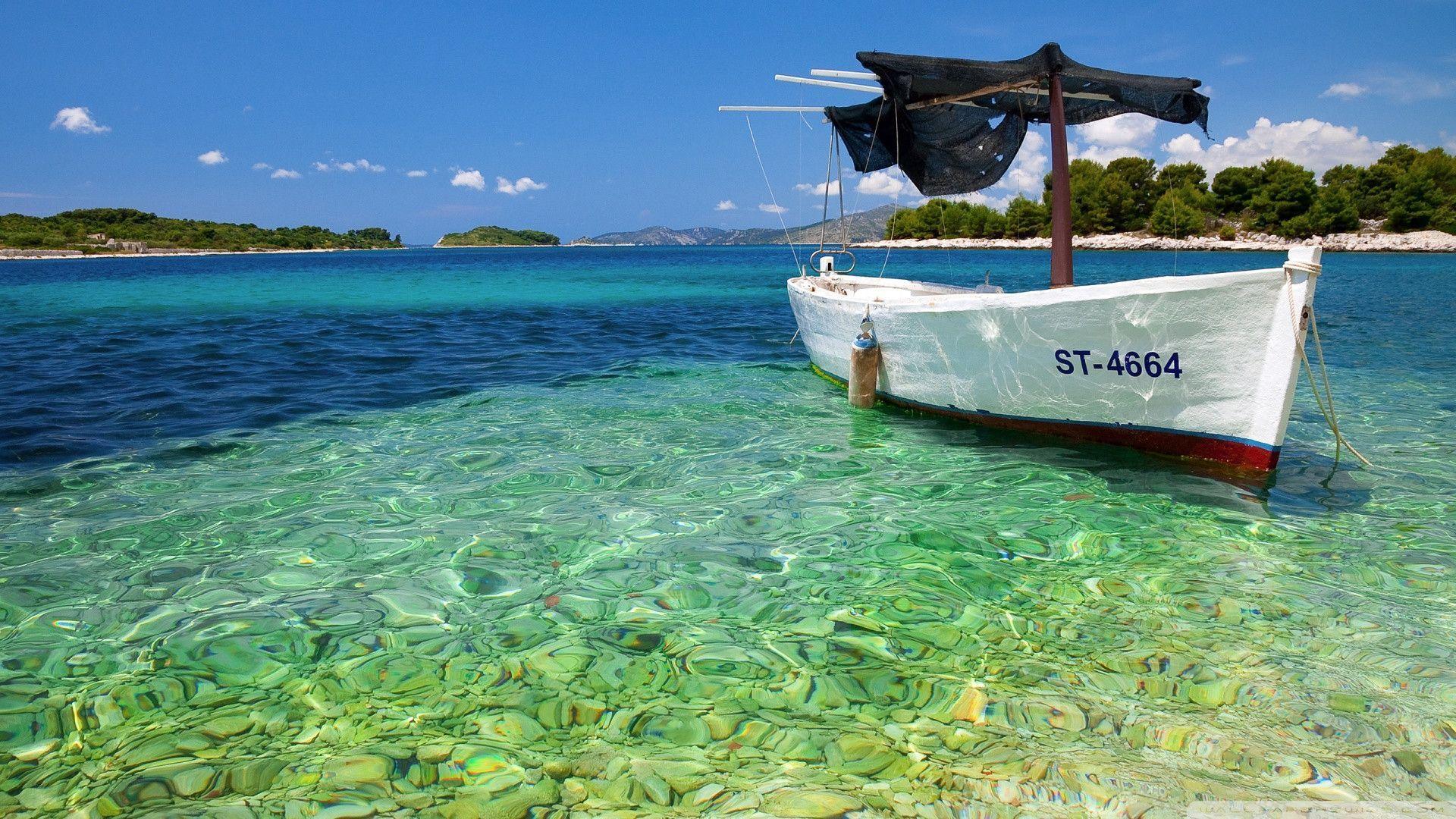Tropical Beach Desktop Wallpapers Wallpaper - High Resolution Background Summer - HD Wallpaper