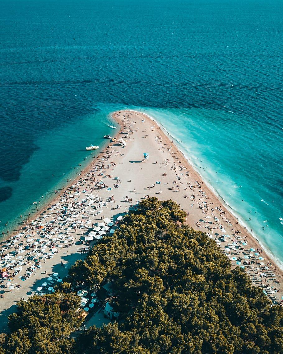 Bird, Eye View Photo, Island, Aerial Shot, Beach, Bird - Best Wallpaper 2019 Android - HD Wallpaper