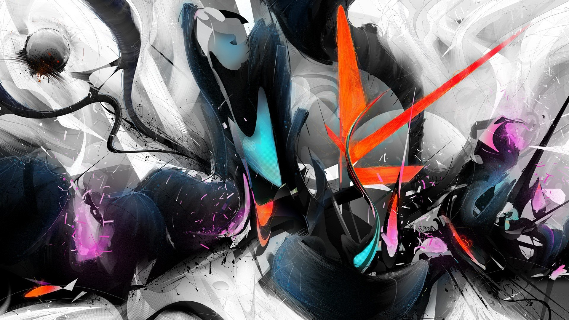1920x1080, Cool 3d Abstract Wallpapers ...