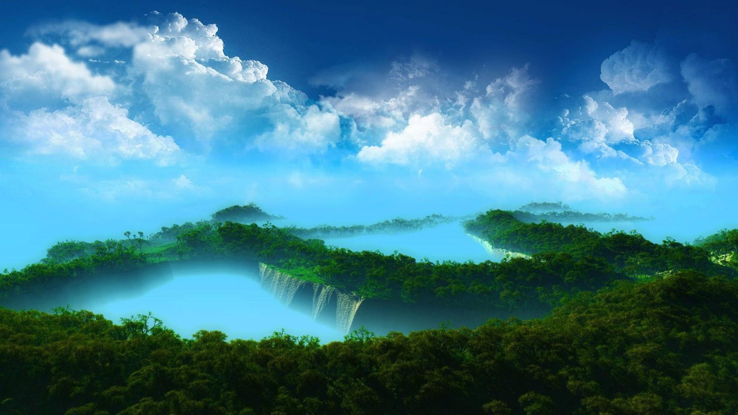 Amazing Forests Forest Scary Space Images High Resolution - Landscape Oil Painting On Canvas - HD Wallpaper