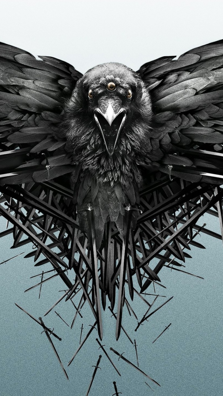 Game Of Thrones 6 Wallpaper Iphone - Black Crow Game Of Thrones - HD Wallpaper