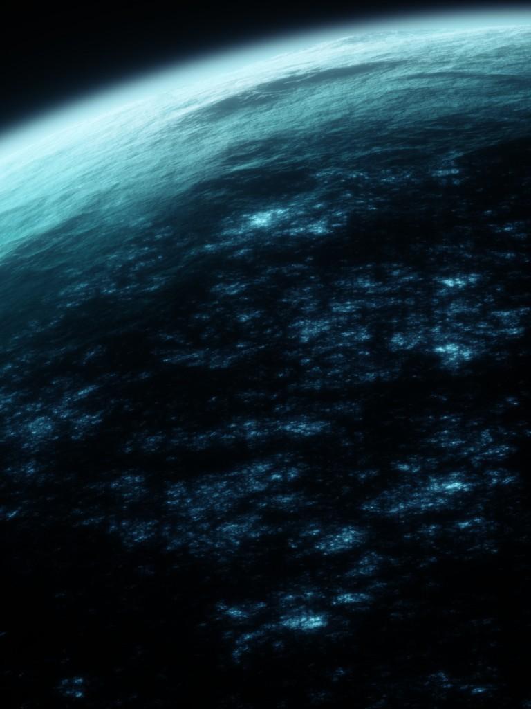 Earth Atmosphere Galaxy Scary Dark Space 768x1024 Wallpaper Teahub Io