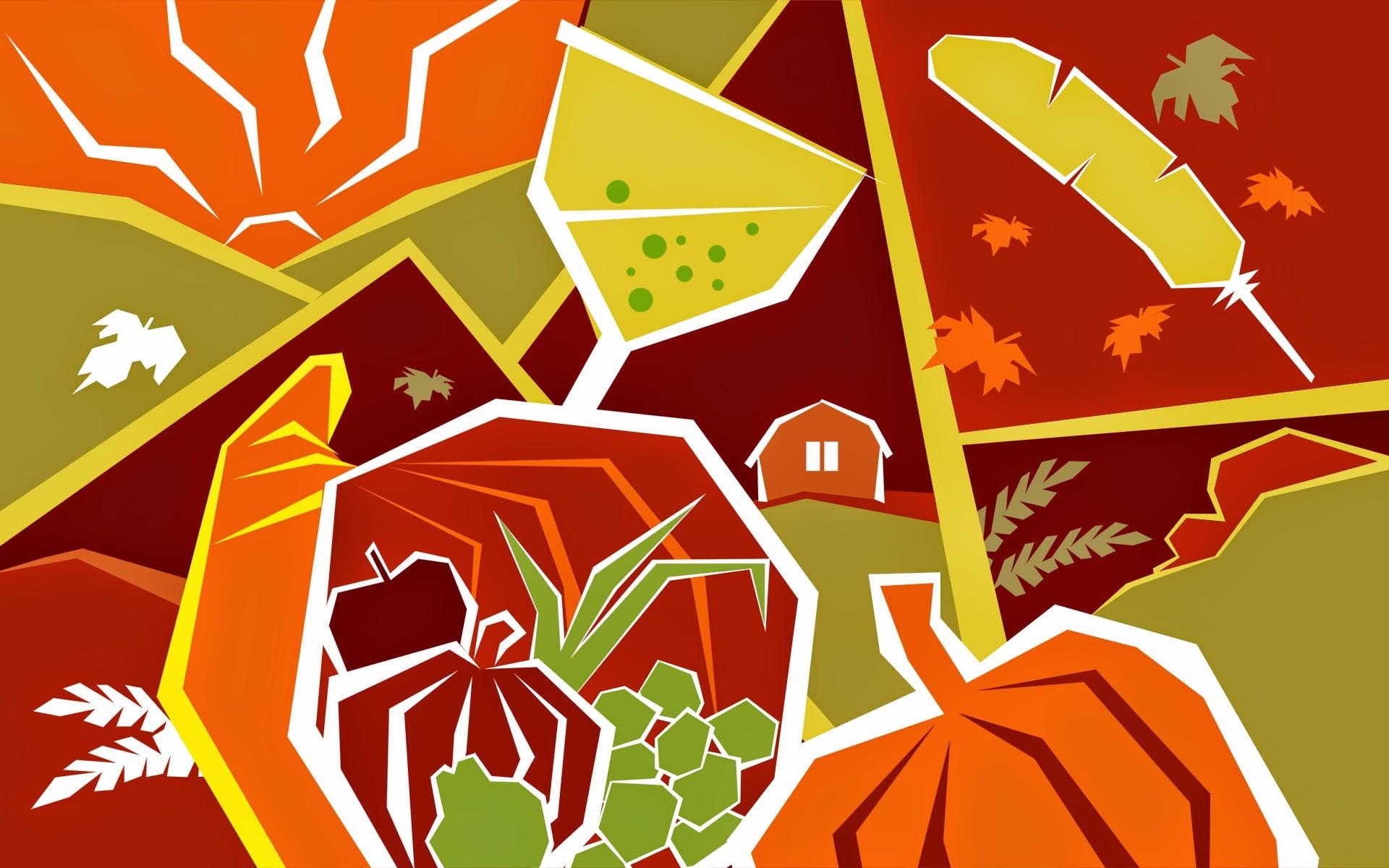3d Thanksgiving Hd Photos Desktop Wallpapers High Definition - Cool Thanksgiving Backgrounds Desktop - HD Wallpaper