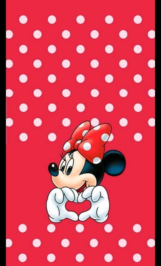 81 816036 birthday background minnie mouse merah