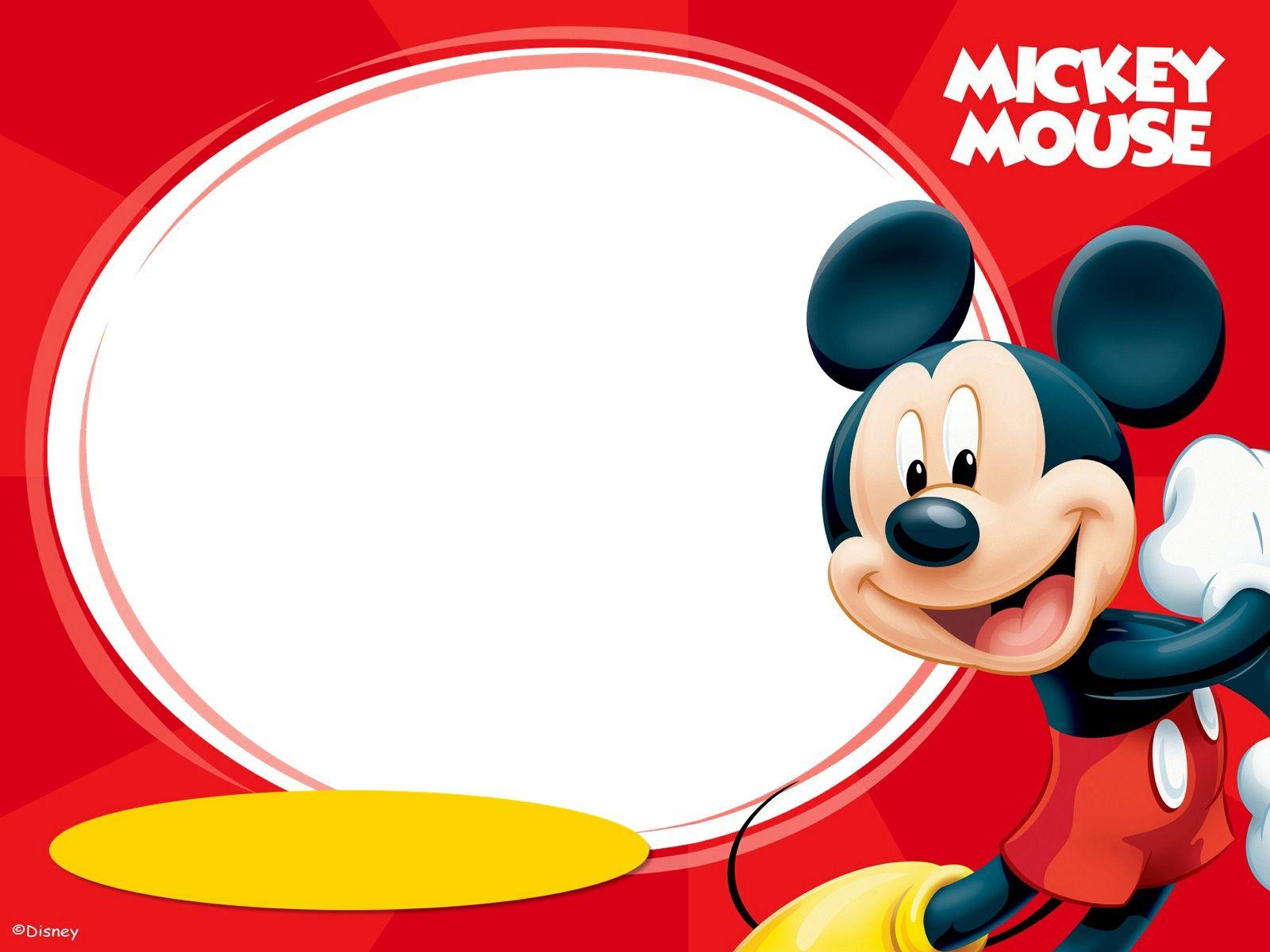 Mickey Mouse Birthday Wallpapers Wallpaper Cave