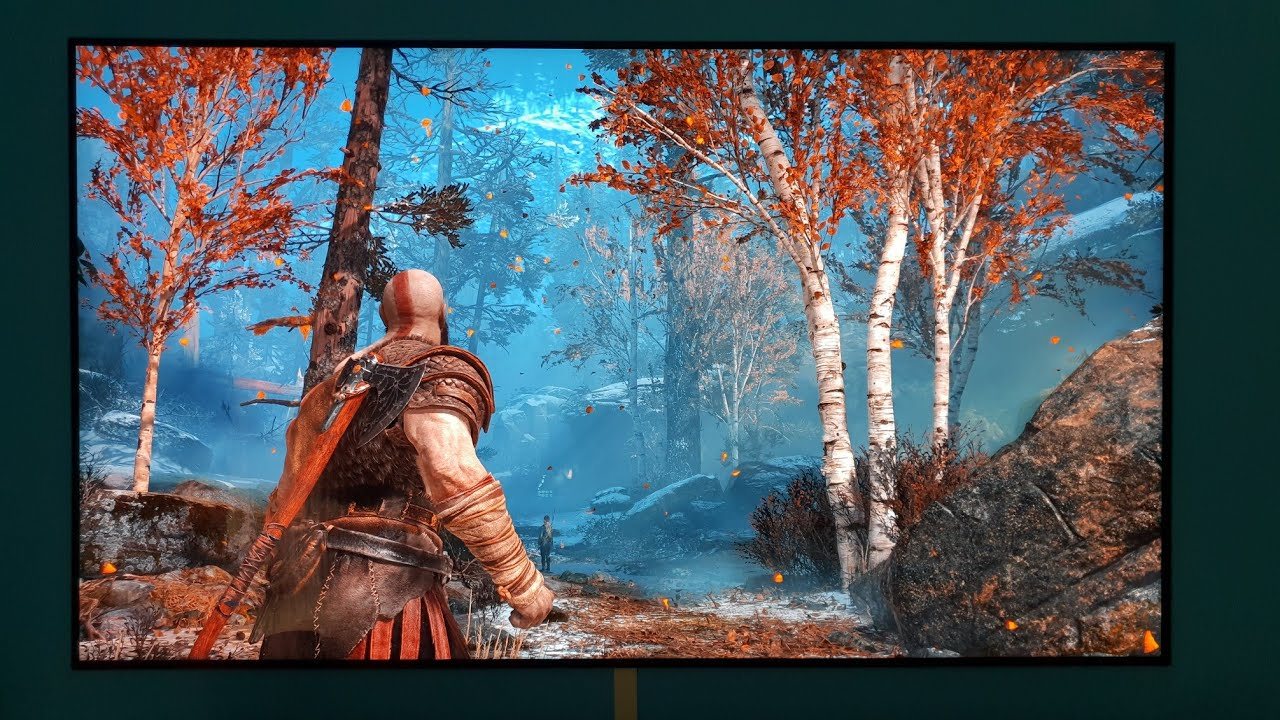 God Of War 4k Hdr 1280x720 Wallpaper Teahub Io