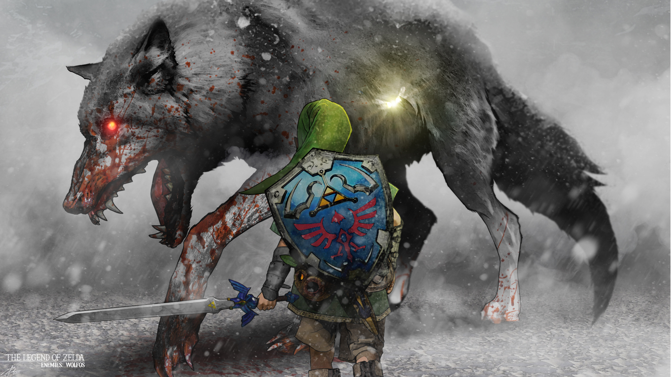 Legend Of Zelda Wolfos 2560x1440 Wallpaper Teahub Io