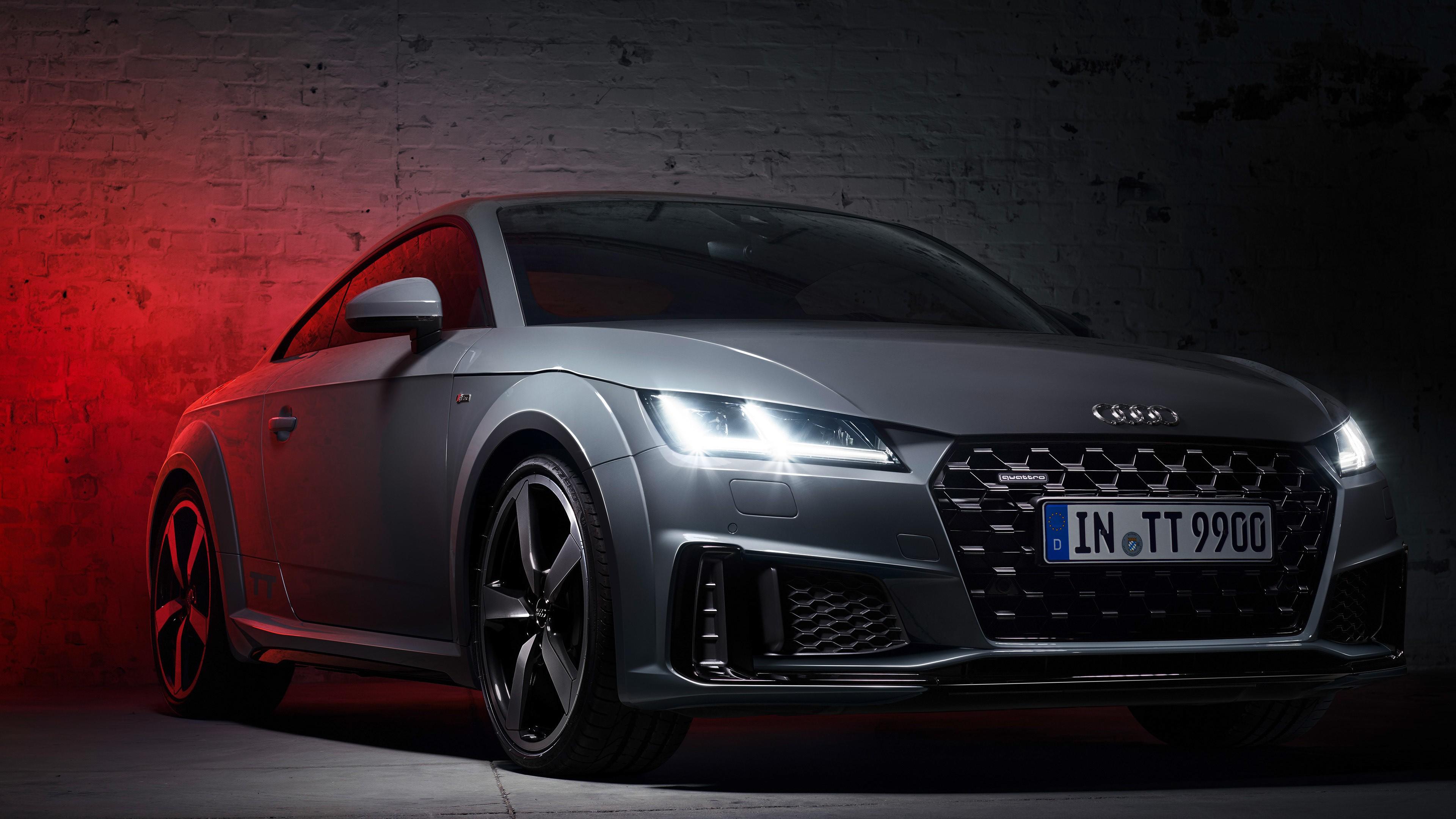 2019 Audi Tt 45 Tfsi Quattro S Line Quantum Gray Edition Audi Tt Quantum Gray Edition 3840x2160 Wallpaper Teahub Io