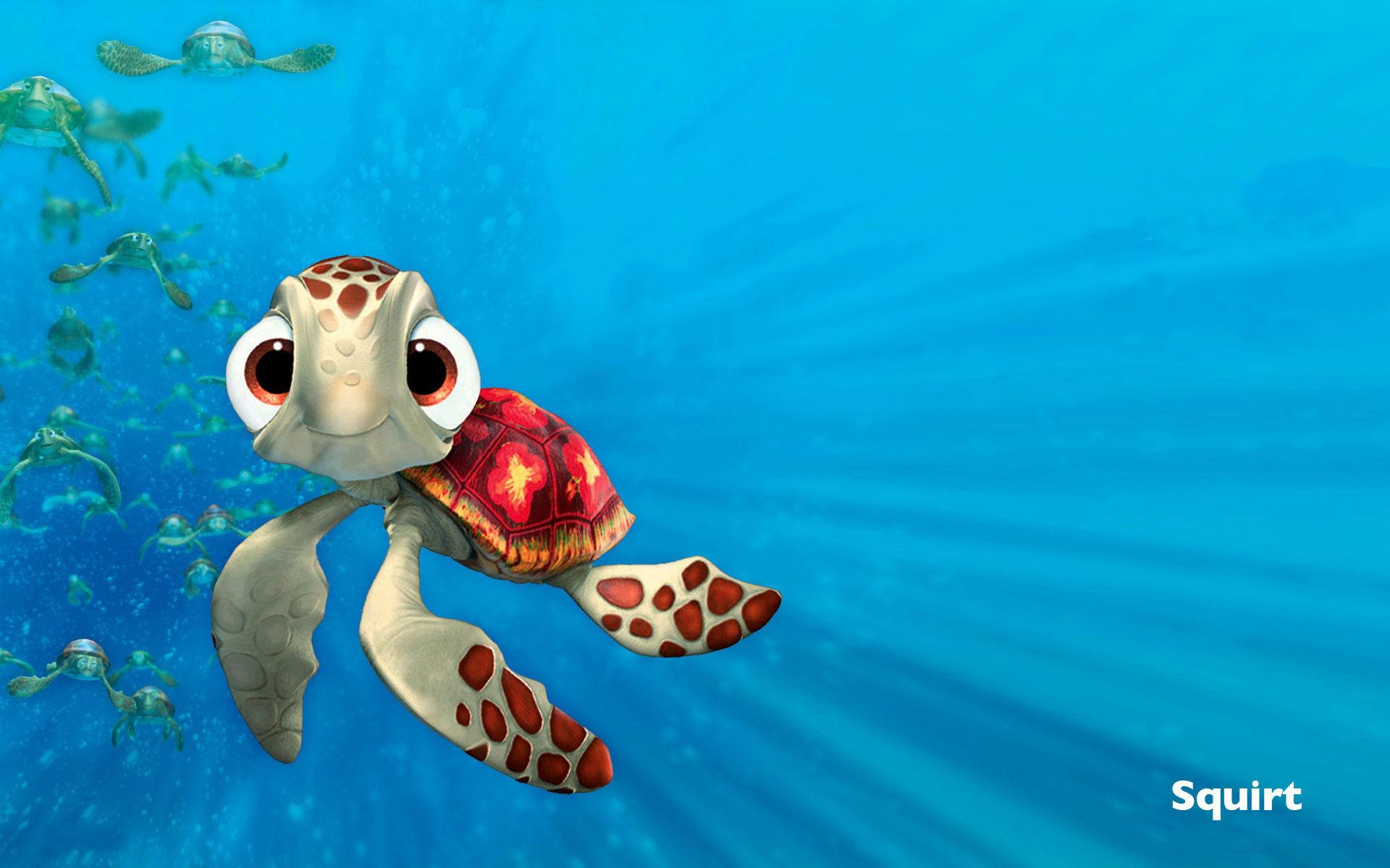 Finding Nemo Squirt 1920x1200 Wallpaper Teahub Io