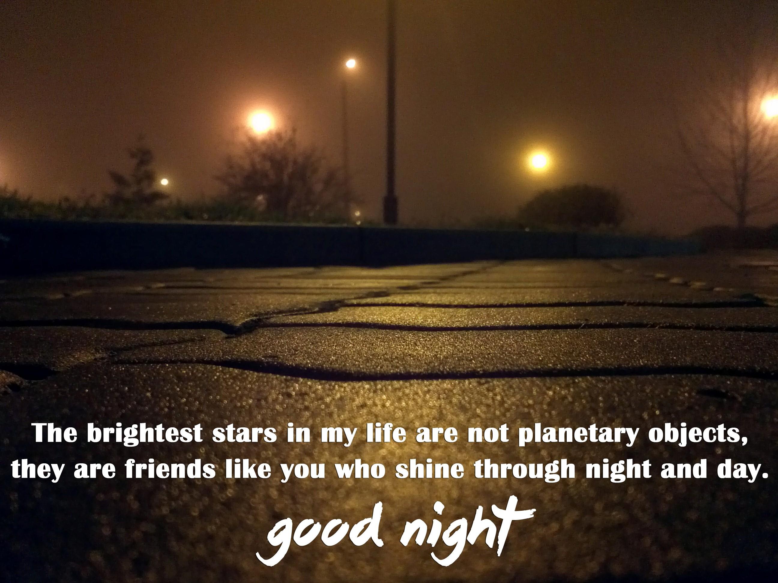 Good Night Friends Quote Hd Desktop Background Wallpapers - Life Good Night Hd Quotes - HD Wallpaper
