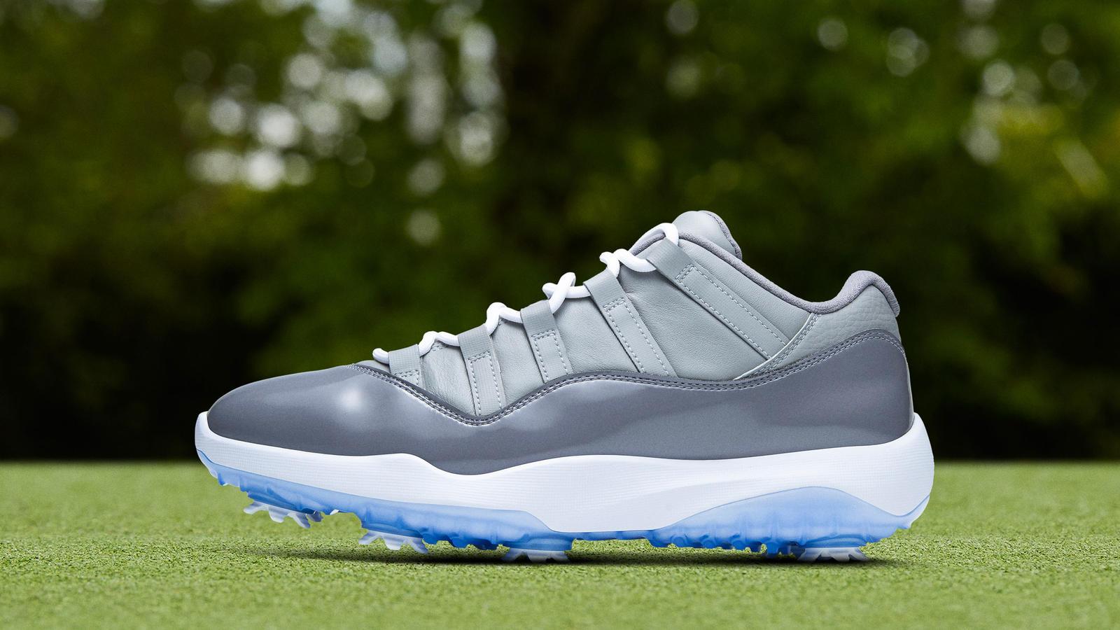 Jordan 11 Cool Grey Golf 1600x900 Wallpaper Teahub Io