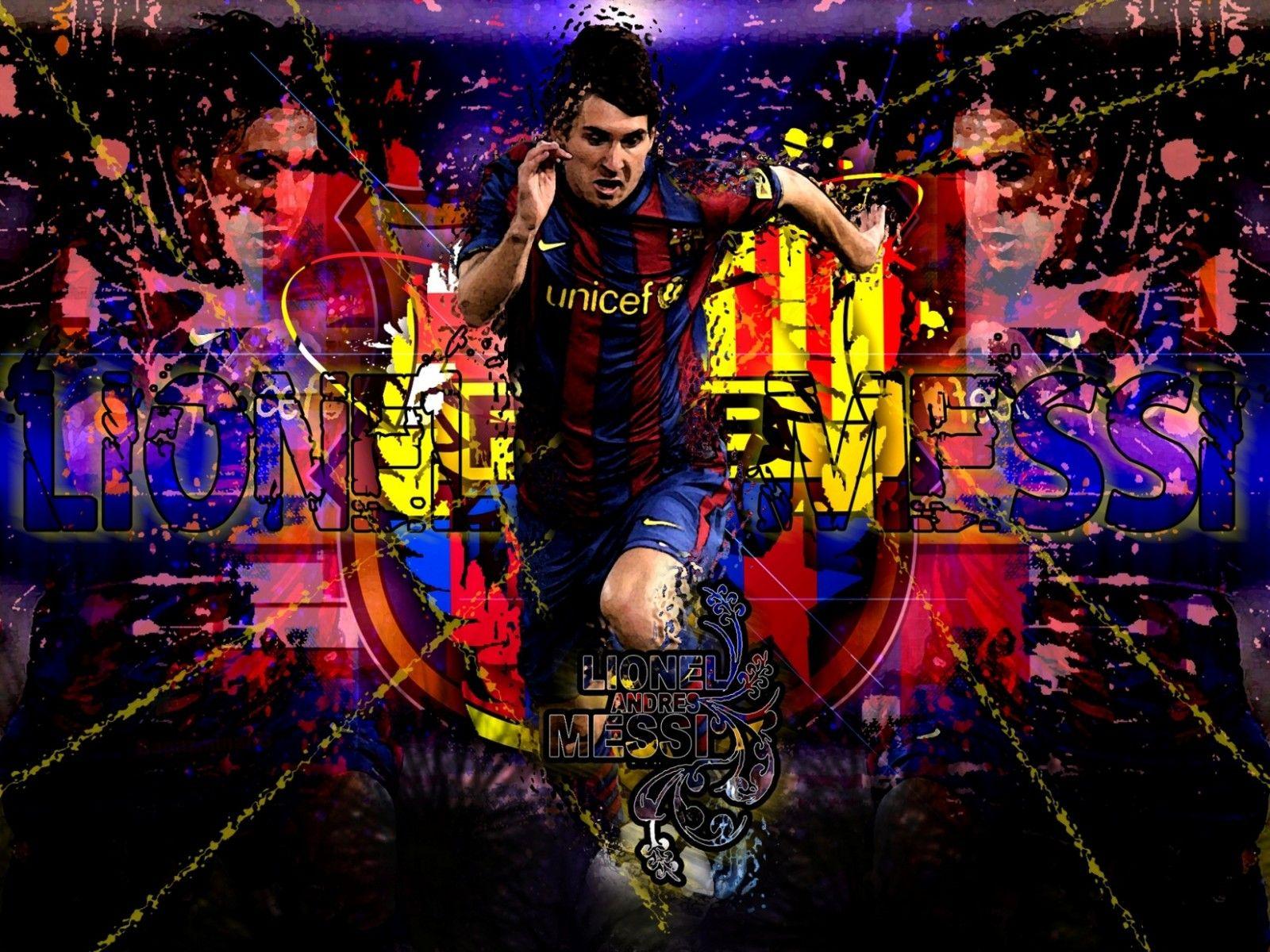 Messi Barcelona Wallpaper 1600x1200 Wallpaper Teahub Io
