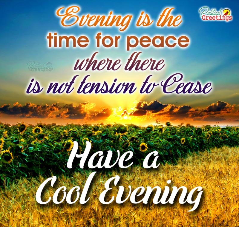 Good Evening Quotes In English - HD Wallpaper