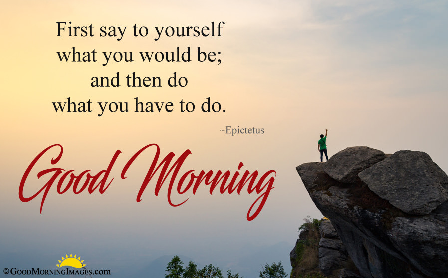 Inspirational Good Morning Quote With Latest Full Hd - Quotes To Live - HD Wallpaper