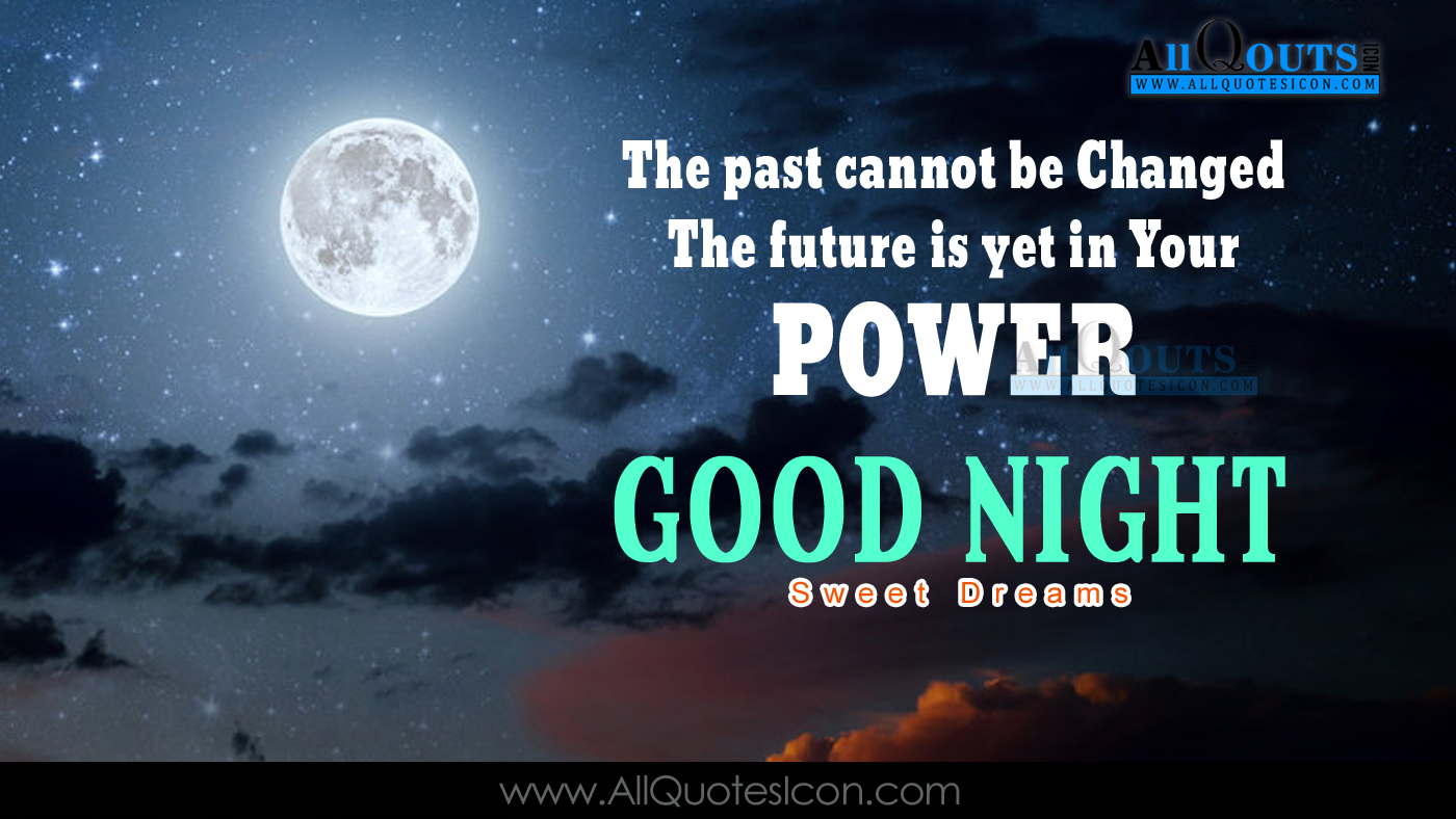 Good Night Wallpapers English Quotes Wishes For Whatsapp - Good Night Quotes In English - HD Wallpaper