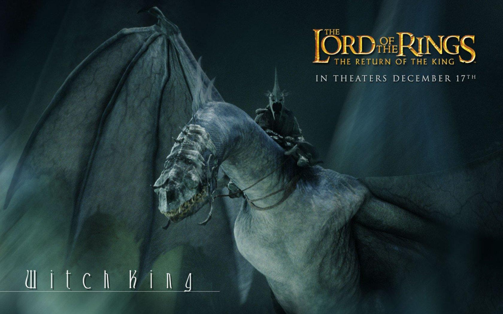 Dragon In Return Of The King - HD Wallpaper