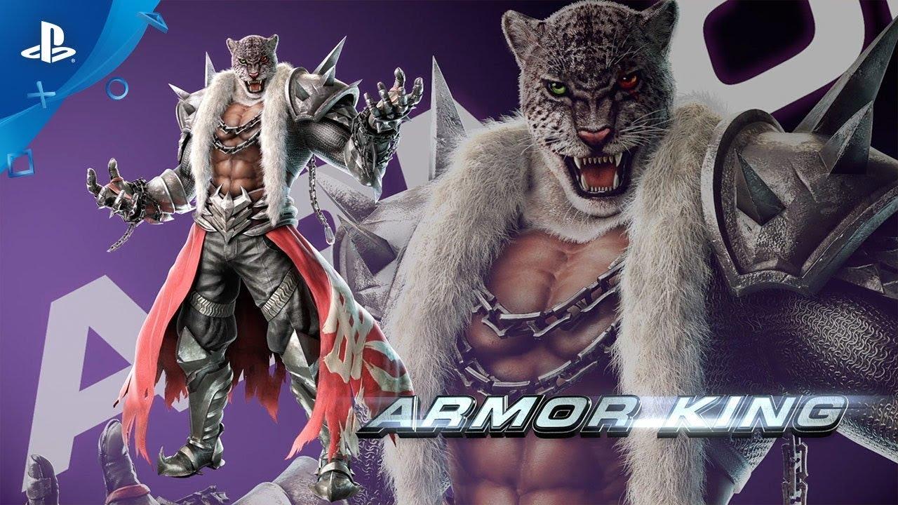 Tekken 7 Armor King Moves 1280x720 Wallpaper Teahub Io