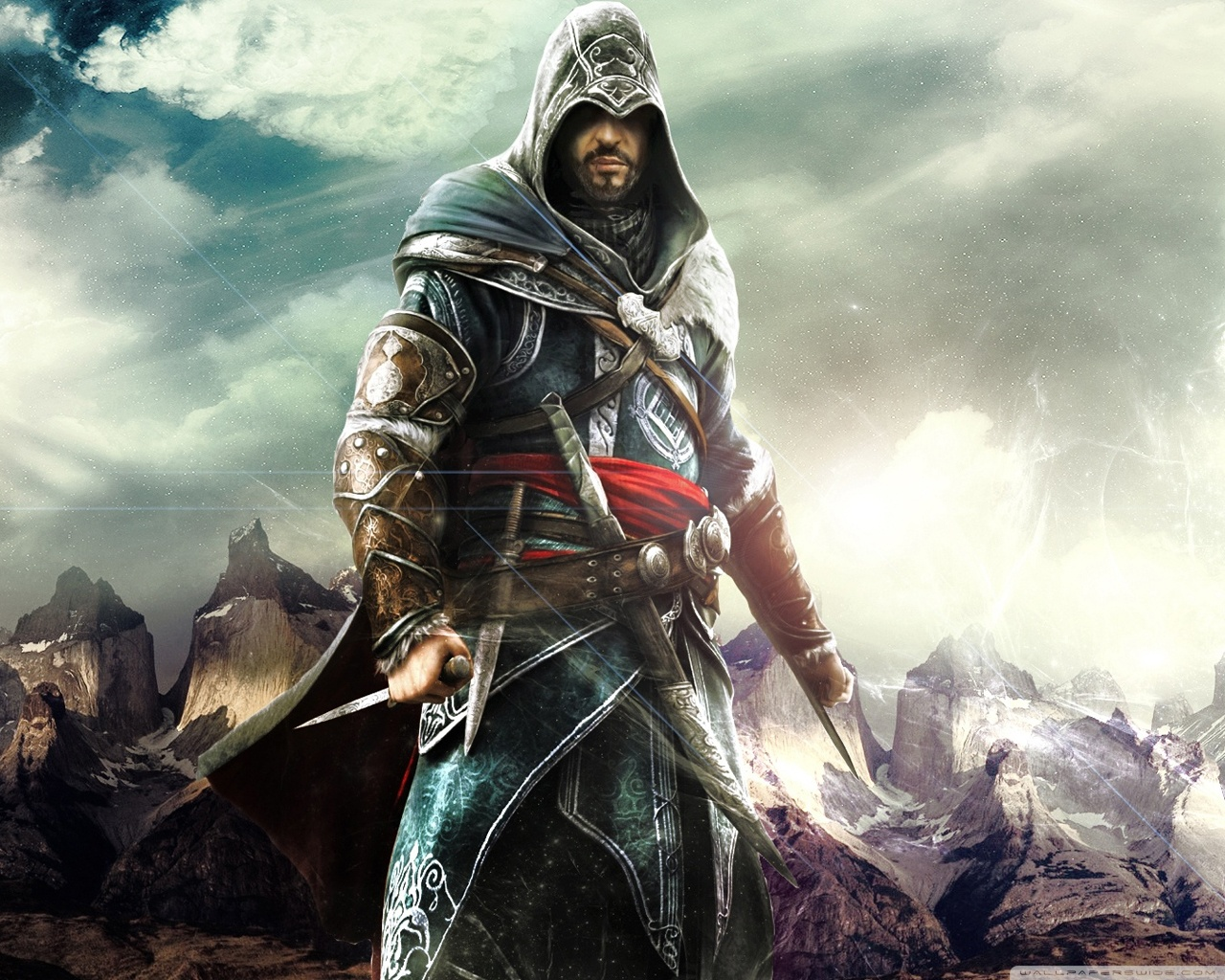 Assassins Creed Revelations 10 Wallpaper Ezio Auditore Wallpaper