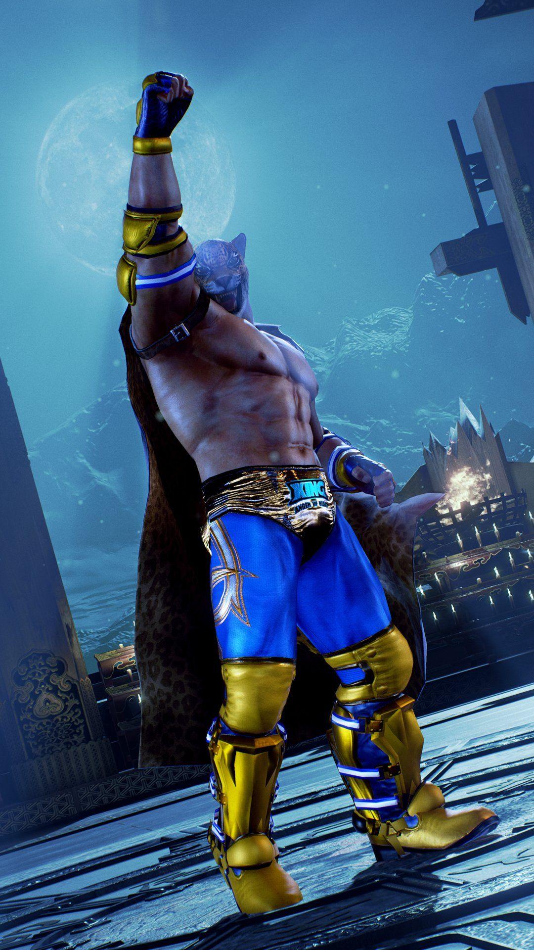 King Tekken 7 Customization 1080x1920 Wallpaper Teahub Io