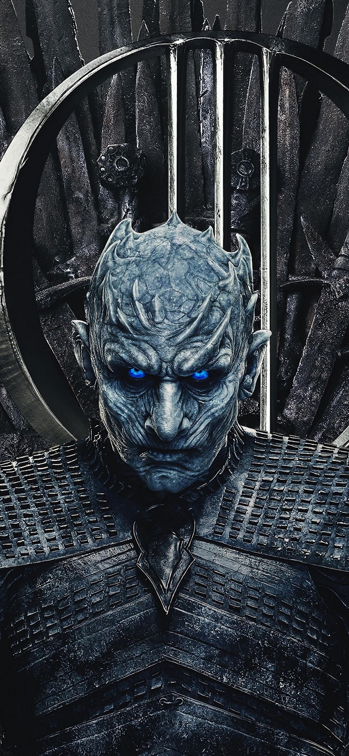 Night King, Game Of Thrones, Season 8, 4k, - Night King Wallpaper Mobile - HD Wallpaper