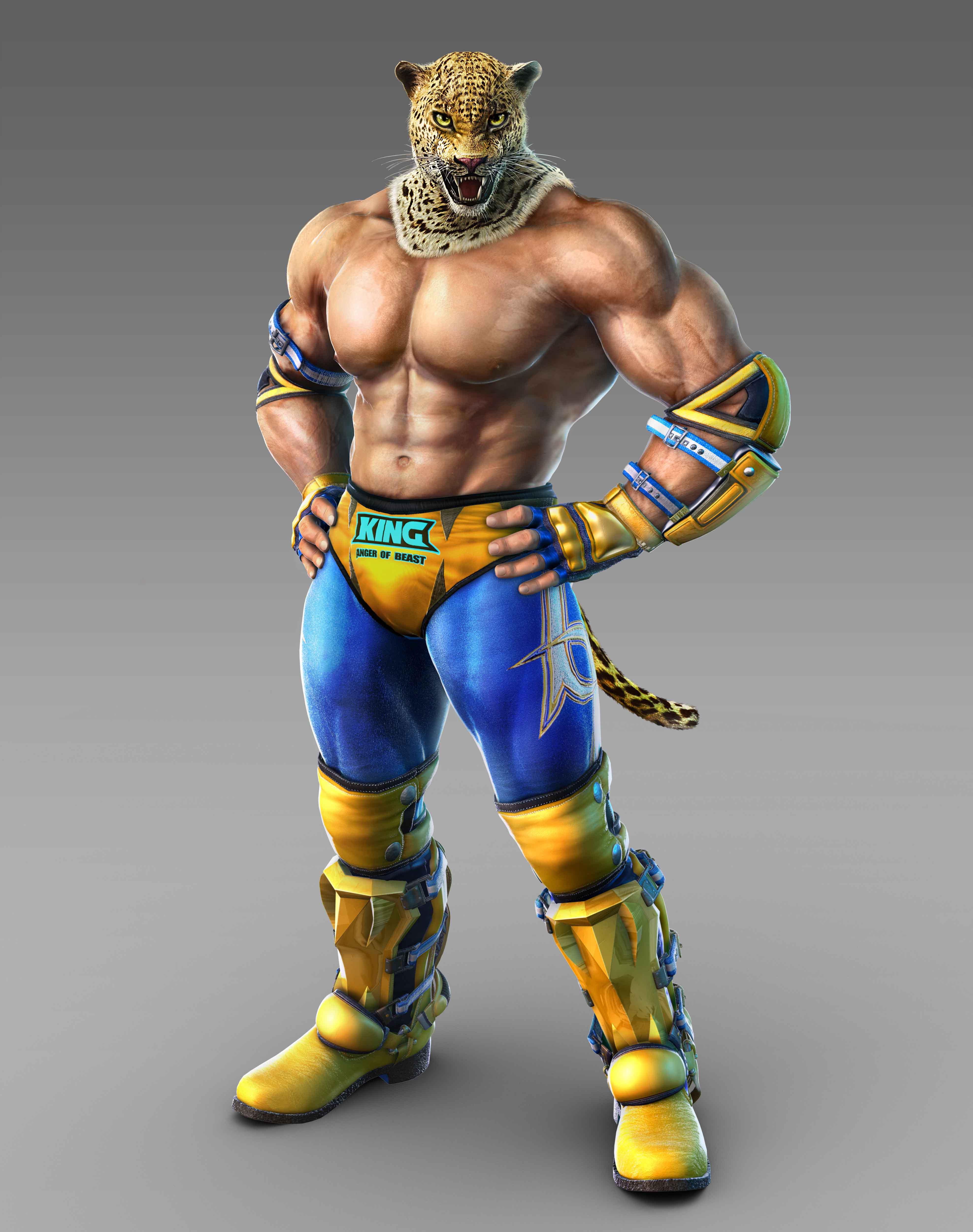 King Ii Tekken 7 3951x5000 Wallpaper Teahub Io