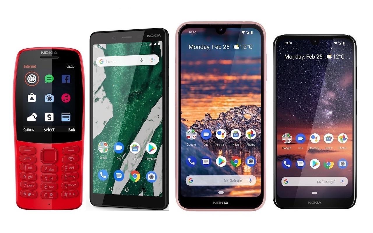 Mwc 2019 Nokia Phones Nokia 3 2 Vs 2 2 1280x800 Wallpaper Teahub Io