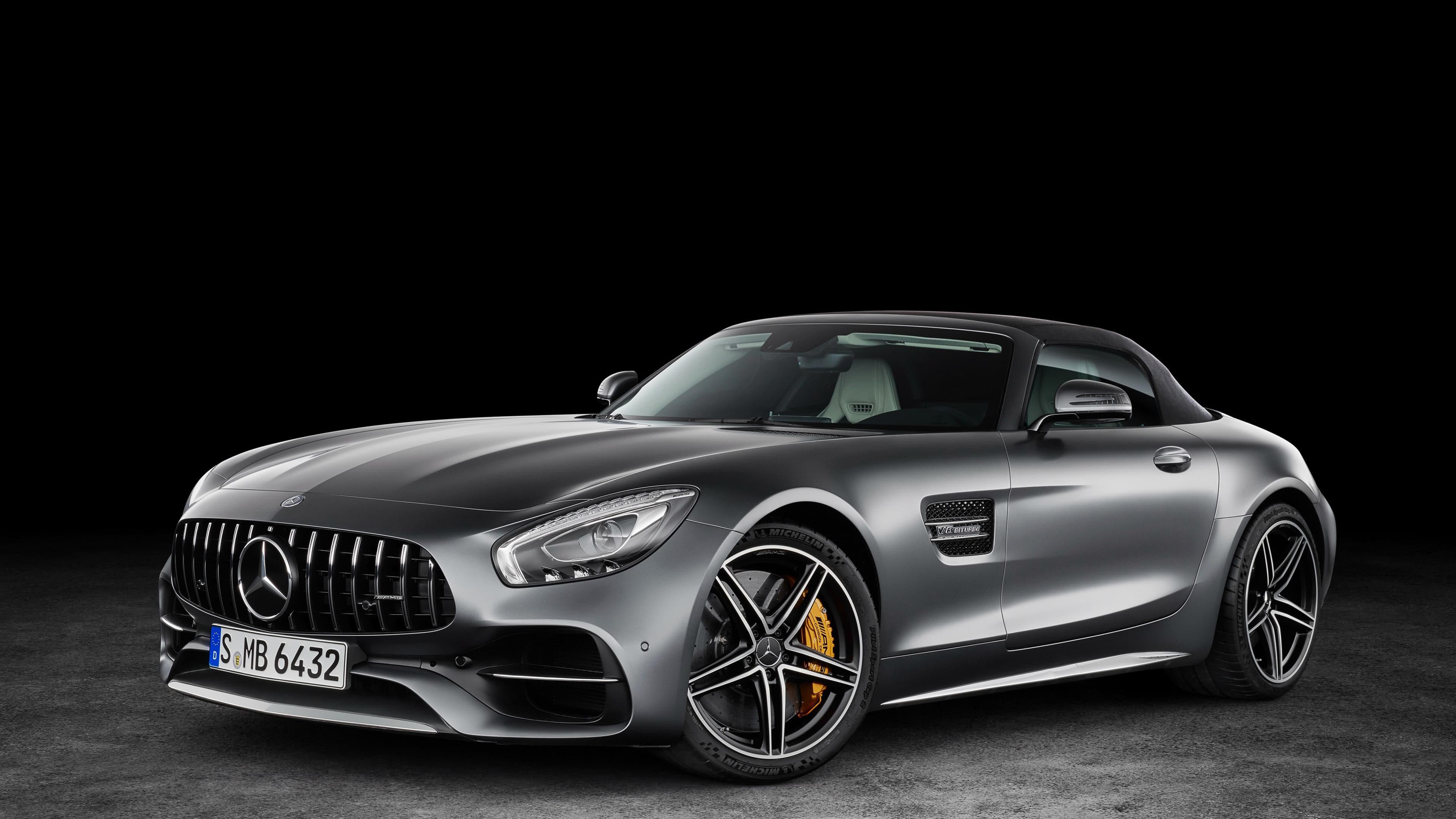 Mercedes Amg Gt Roadster Uhd 4k Wallpaper 3840x2160 Wallpaper Teahub Io