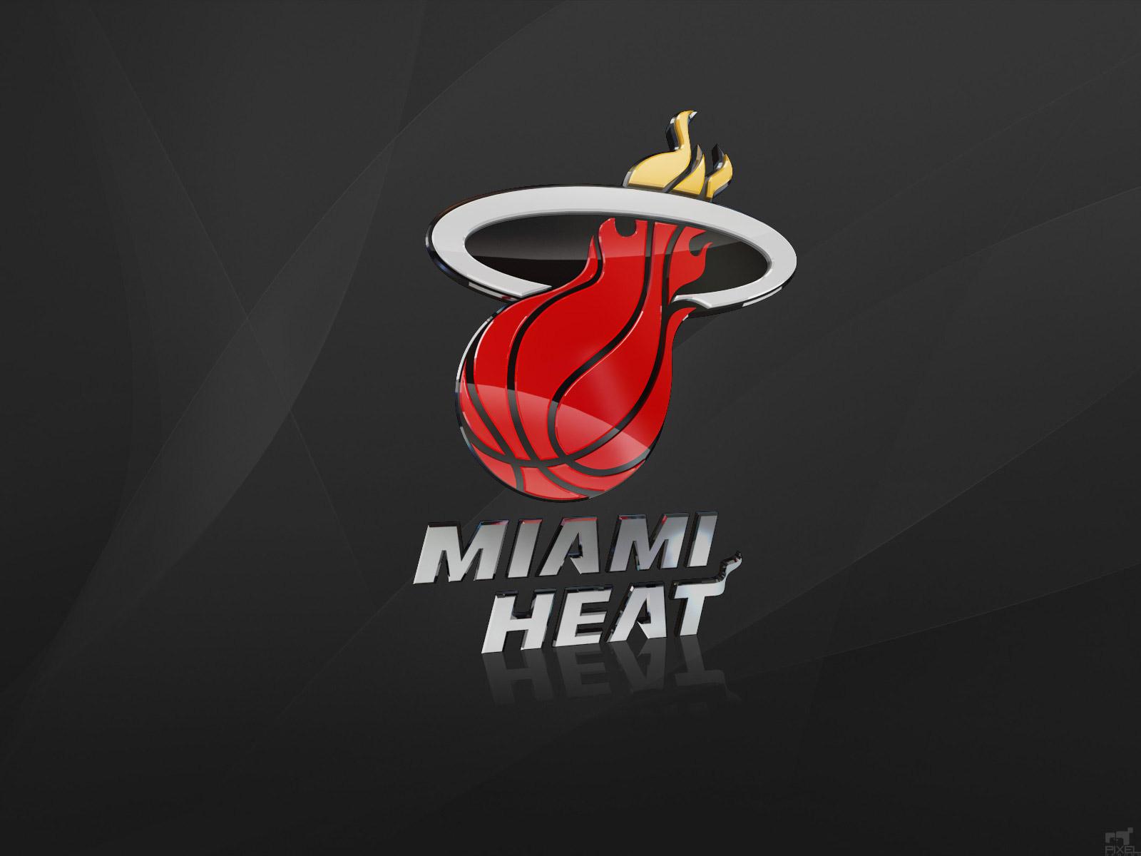 Nba Miami Heat Logo - HD Wallpaper