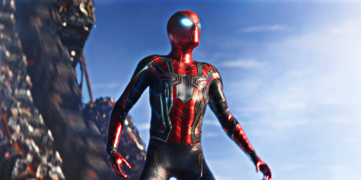 Spiderman Tom Holland 2 - HD Wallpaper