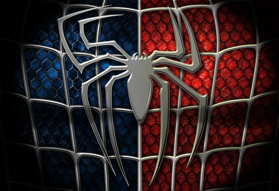 Spiderman Wallpaper - Logo Spiderman Full Hd - HD Wallpaper