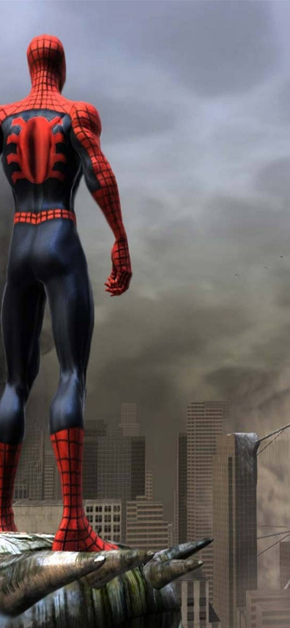 Spiderman Iphone 11 Pro Wallpaper Spider Man Web Of Shadows 945x2048 Wallpaper Teahub Io
