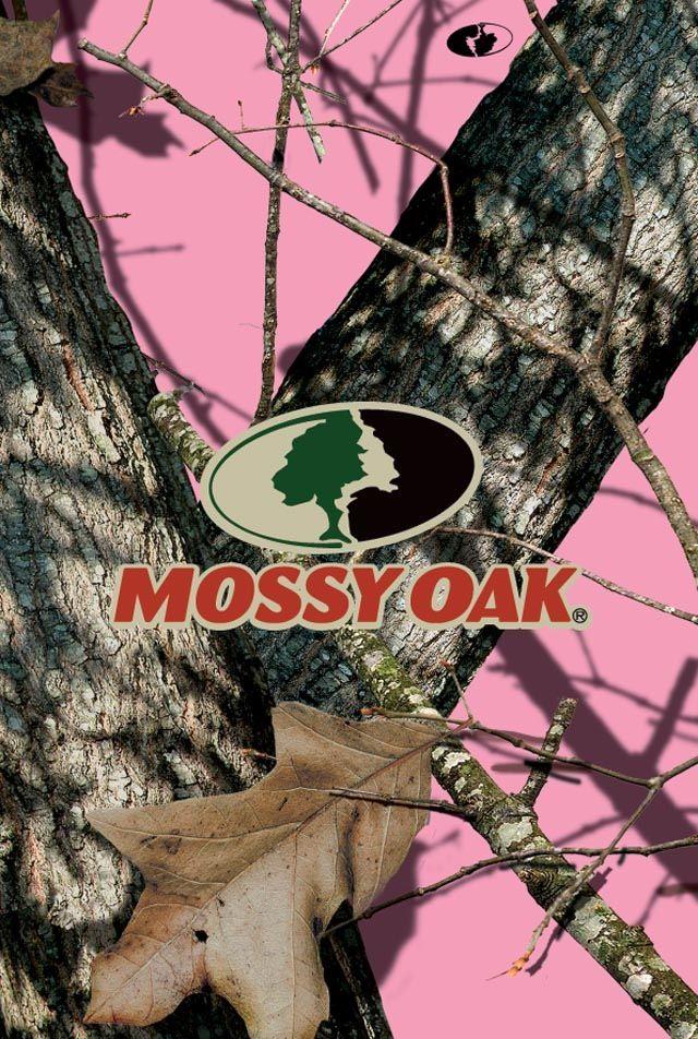 Pink Mossy Oak - HD Wallpaper